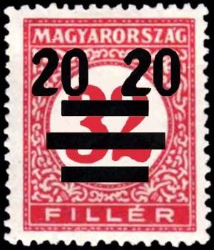 Overprinted with new value, wmk. 8, perf. 15