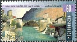 Arts 2003 - Roman bridge in Mostar