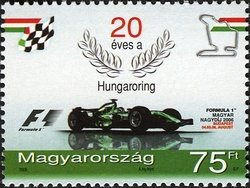 Hungaroring is 20 years old