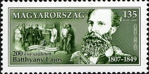 Count Lajos Batthyány, prime minister