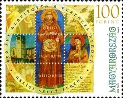 800th Anniversary of Franciscan Order