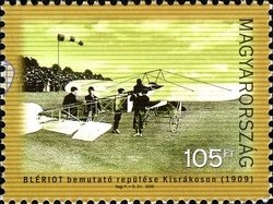 Louis Blériot Display in Hungary