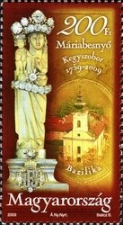 250th Anniv. of the Discovery of the Mariabesnyő Devotional