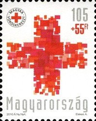 Stamp, Hungarian Red Cross, Hungary,  , Red Cross and Red Crescent