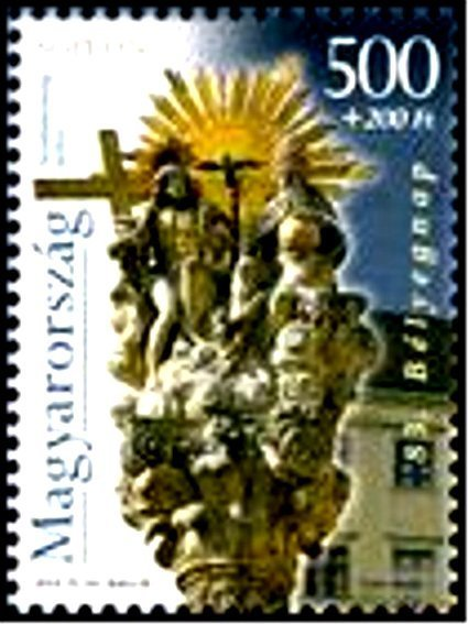 83rd Stamp Day – City of Sopron – from m/s
