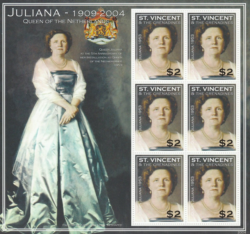 Queen Juliana of the Netherlands