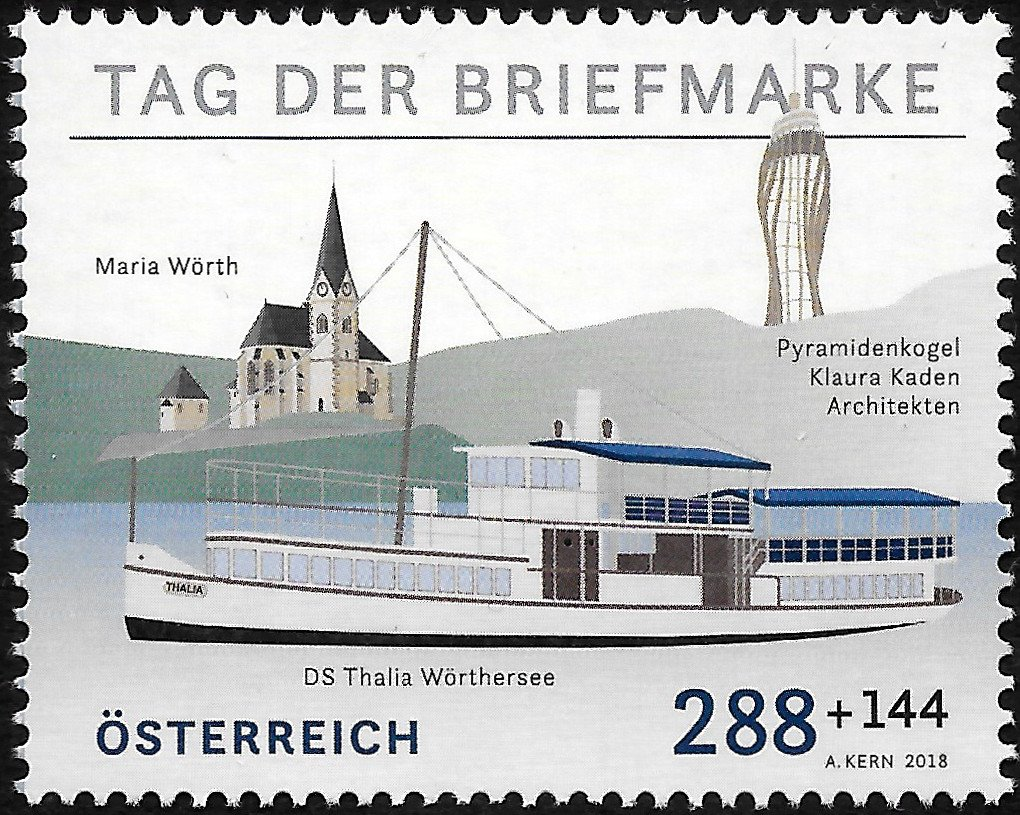 Stamp Day 2018: Wörthersee (Carinthia)