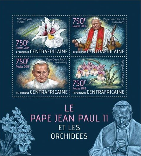 Pope John Paul II and Orchids