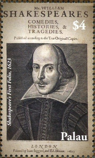 Shakespeare's First Folio, 1623