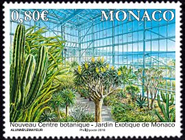 New Exotic Plant Wing of Monte Carlo Botanic Garden