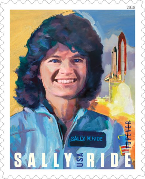Sally Ride, first female American Astronaut