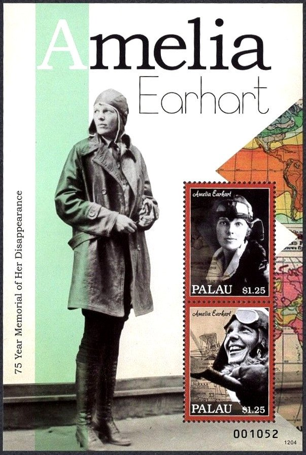 Amelia Earhart - 75 year Memorial of her Disappearance