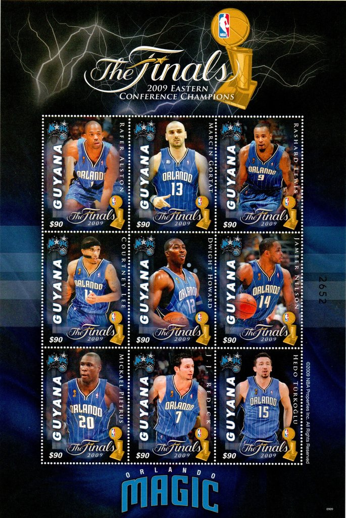 9 players from Orlando Magic