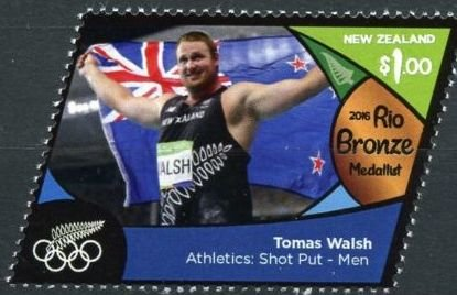 Tomas Walsh (bronze, athletics: shot put - men)