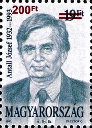 Election of prime minister Antall József, 20th anniv.