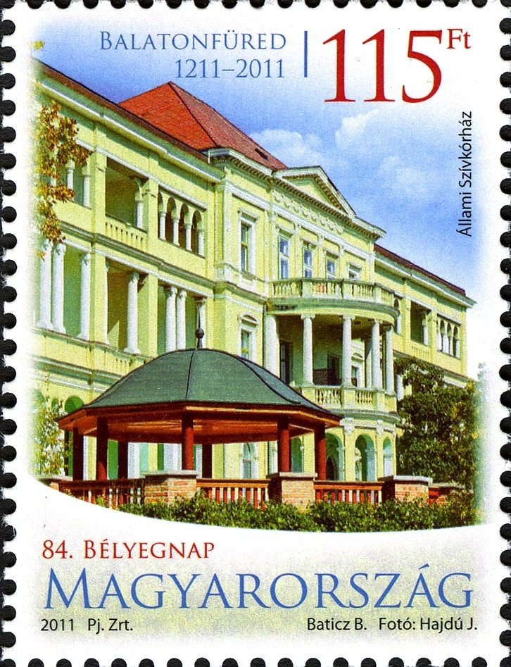 84th Stamp Day - Balatonfüred