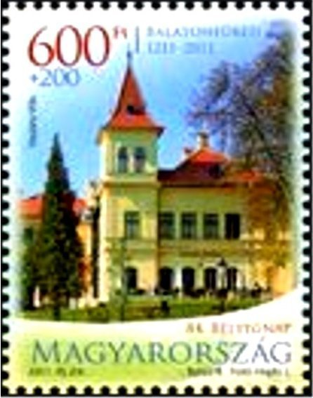 84th Stamp Day - 800 years of Balatonfüred – from m/s
