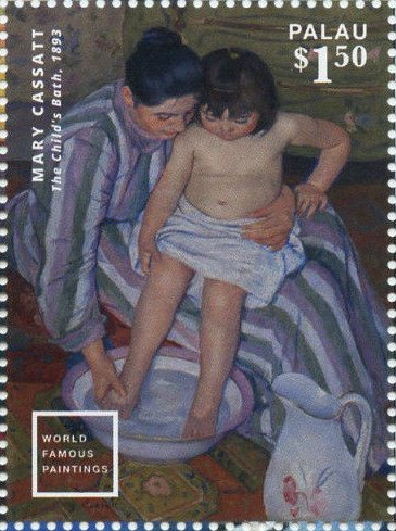"""The Child's Bath""(1893), by Mary Cassatt"