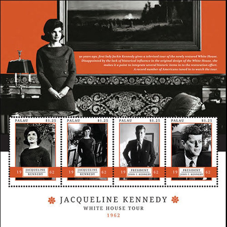 Jaqueline Kennedy - White House Tour 1962