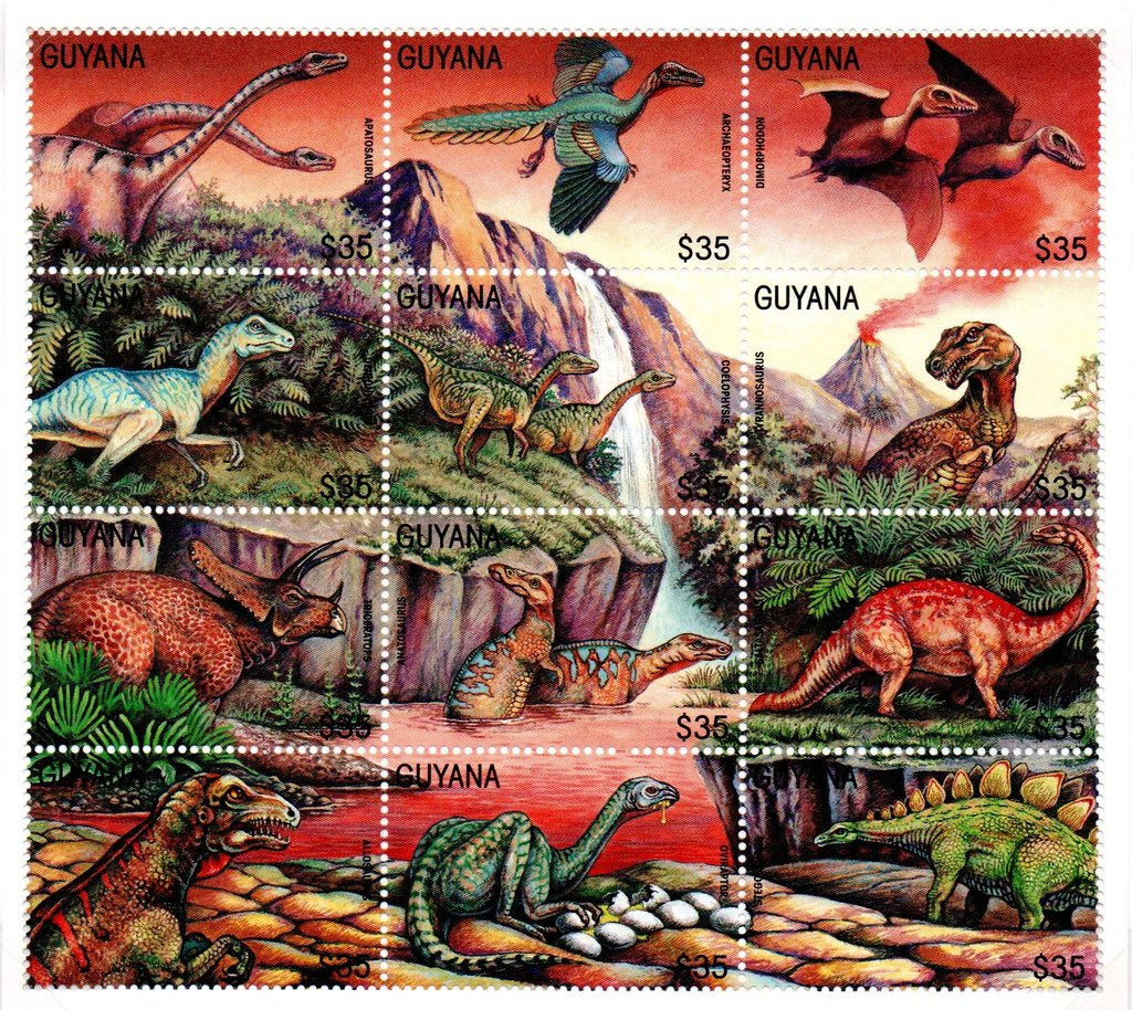 Apatosaurus and eleven others