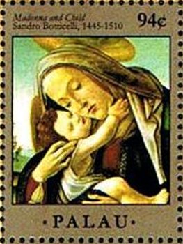 """Madonna and Child"", by Sandro Botticelli"