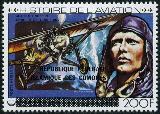 Aviation History - overprint