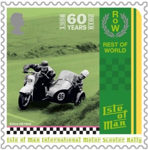 60th Anniversary of the Manx Intl. Motor Scooter Rally