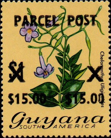 """PARCEL POST"" and value surcharge by Bovell's Printery"