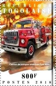 Ford 8000 American Fire Truck