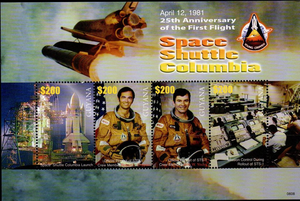 25th Anniversary of First Flight of Space Shuttle Columbia
