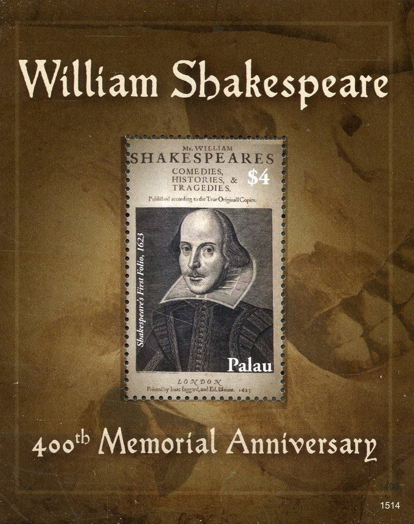 400th Memorial Anniversary of William Shakespeare