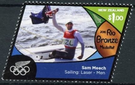 Sam Meech (bronze, sailing: laser - men)