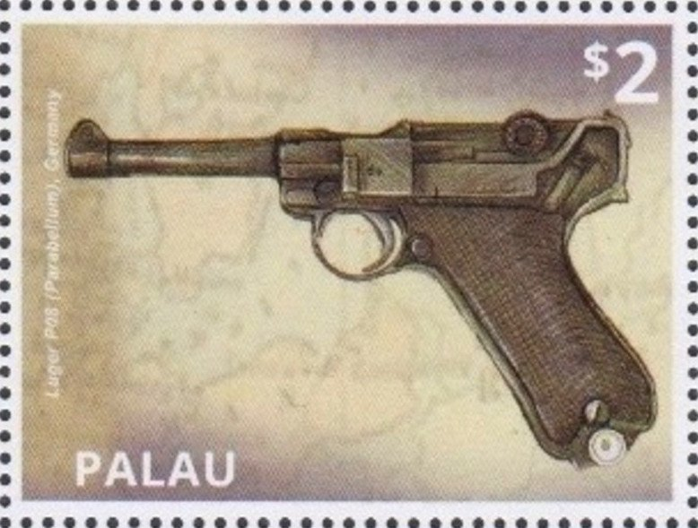 Luger P08 (Parabellum), Germany