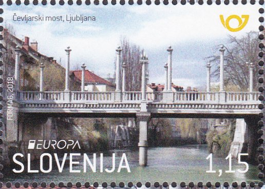 Cobblers' Bridge in Ljubljana