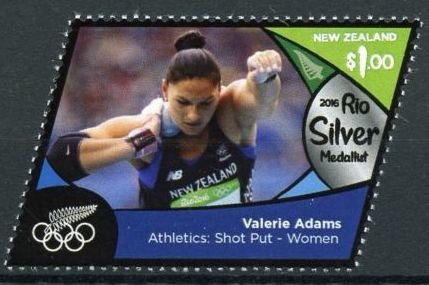 Valerie Adams (silver, athletics, shot put - women)