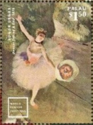 """Dancer"" (1871), by Edgar Degas"