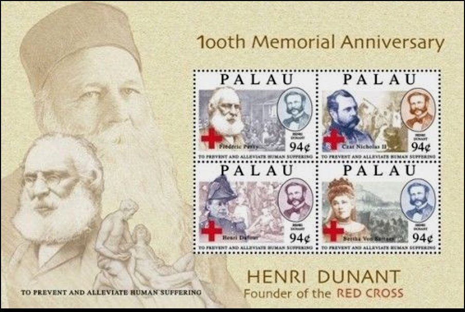 Henry Dunant - 100th Memorial Anniversary