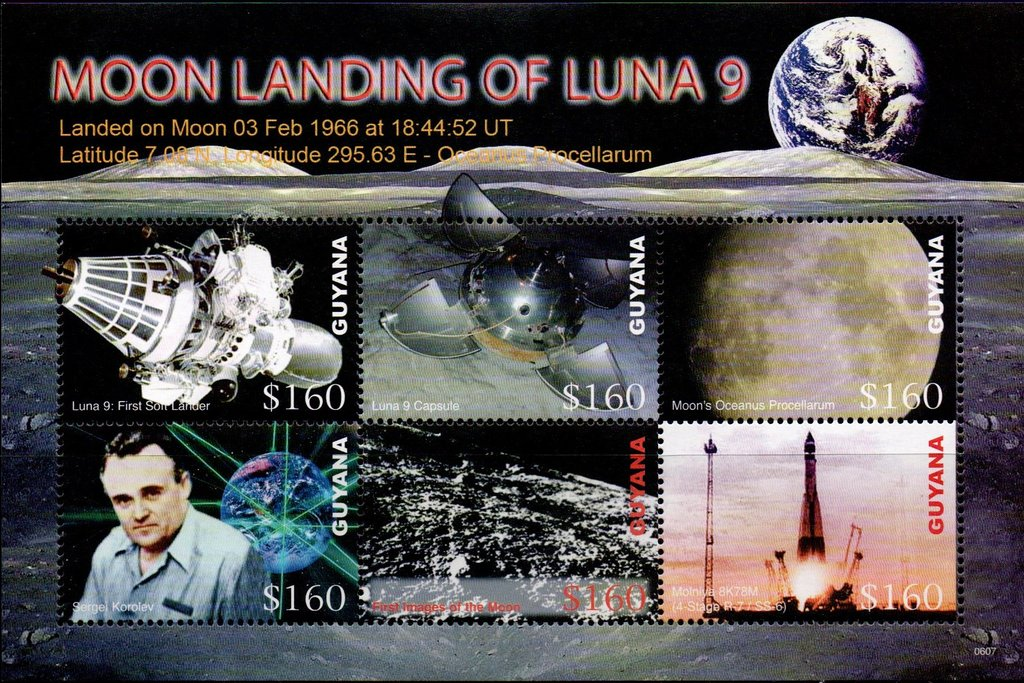 40th Anniversary of Luna 9 Moon Landing