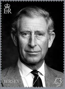 Stamp, HRH Charles, Prince of Wales, Jersey,  , Anniversaries and Jubilees, Famous People, Princes, Royalty