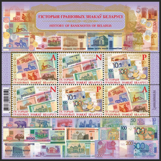 History of Banknotes of Belarus