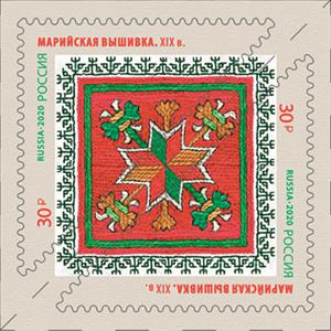 Decorative and Applied Arts of Russia. Embroidery